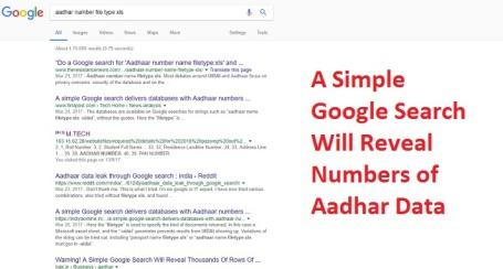 Aadhar Data